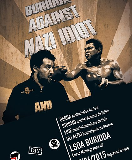 Buridda against Nazi-idiot // 25 Aprile 2015
