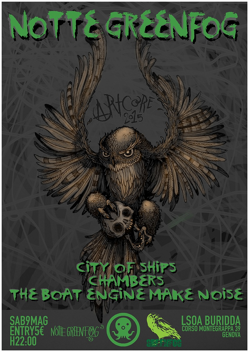 City of Ships - Chambers - The boat engine make noise