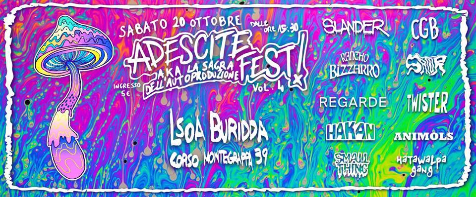 Adescite FEST // 20 Ottobre 2018