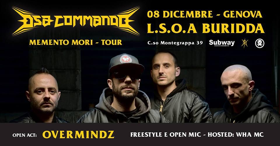 DSA Commando live // 8 Dicembre 2018