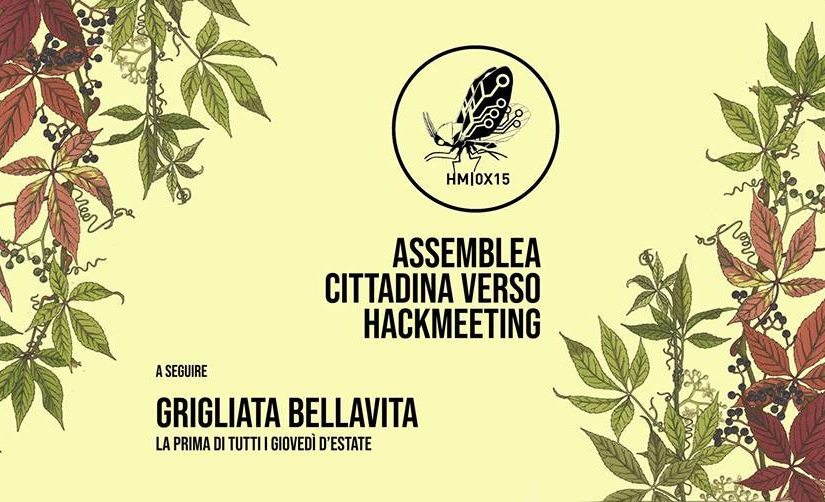 Assemblea Cittadina verso Hackmeeting // 14 Giugno 2018