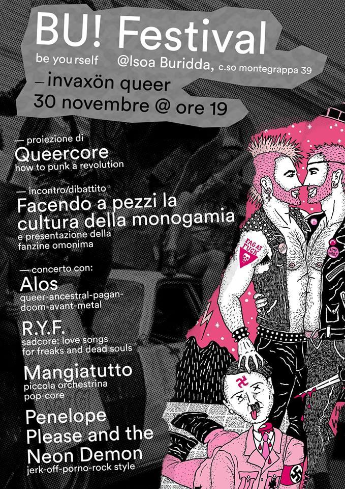 BU! Festival InvaXün Queer // 30 Novembre 2018