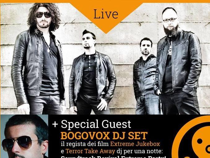 White Mosquito Live + Dj Set Bogovox [benefit Officina del crescere] // 8 Giugno 2018