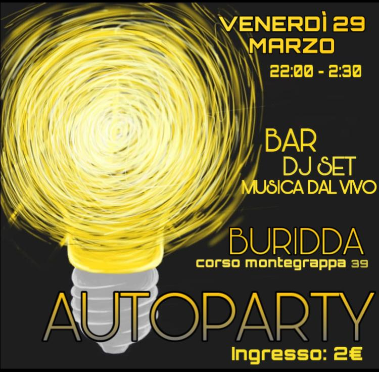 Autoparty: Festa Studentesco // 29 Marzo 2019