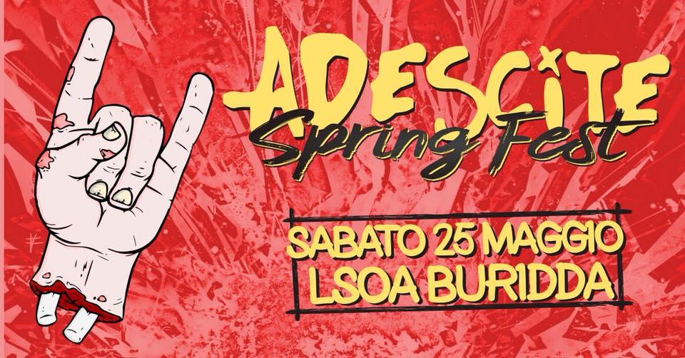 Adescite Spring Fest! // 25 Maggio 2019