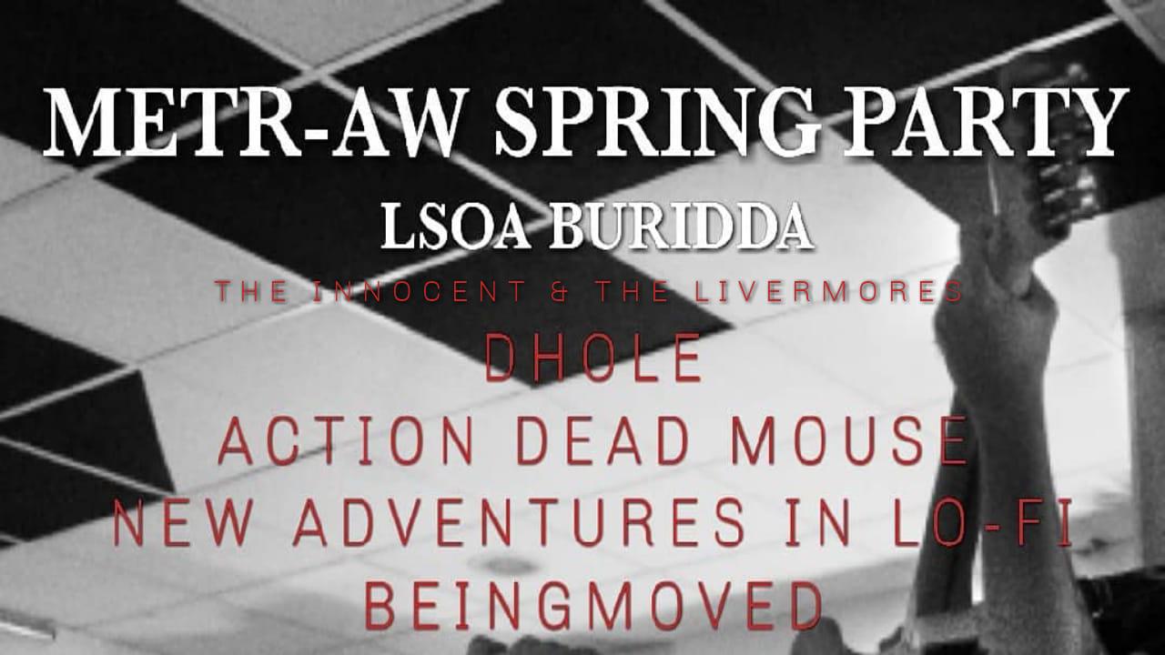 Metr-AW Spring Party // 13 Aprile 2019