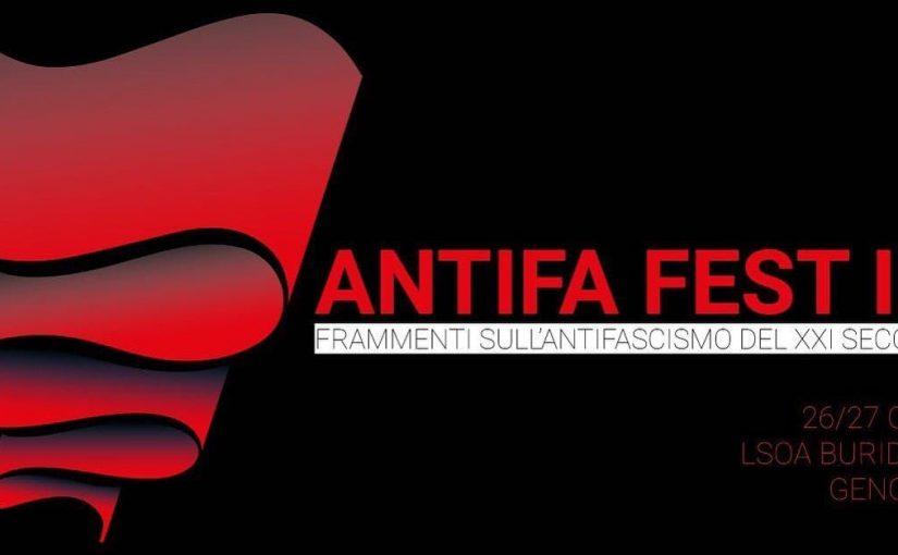 ANTIFA FEST III // 26-27 Ottobre 2019