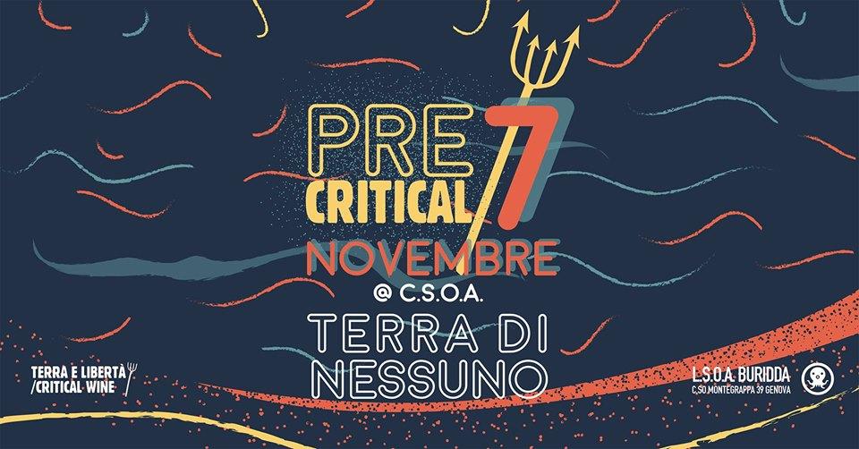 Pre Critical Wine 2019 al TDN // 7 Novembre 2019