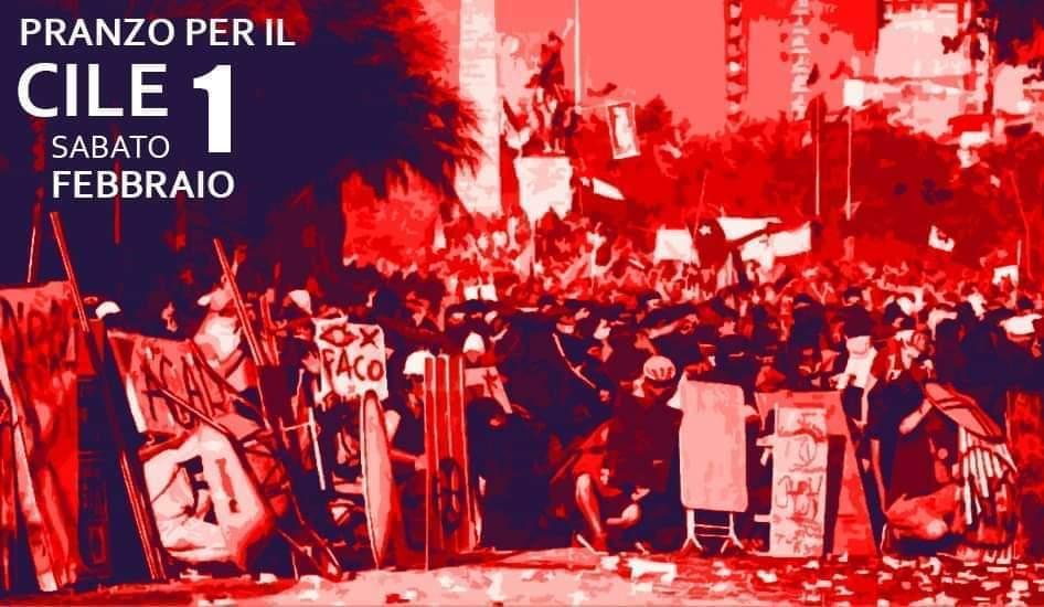 Pranzo Benefit per il Primo Soccorso Cileno // 1 Febbraio 2020
