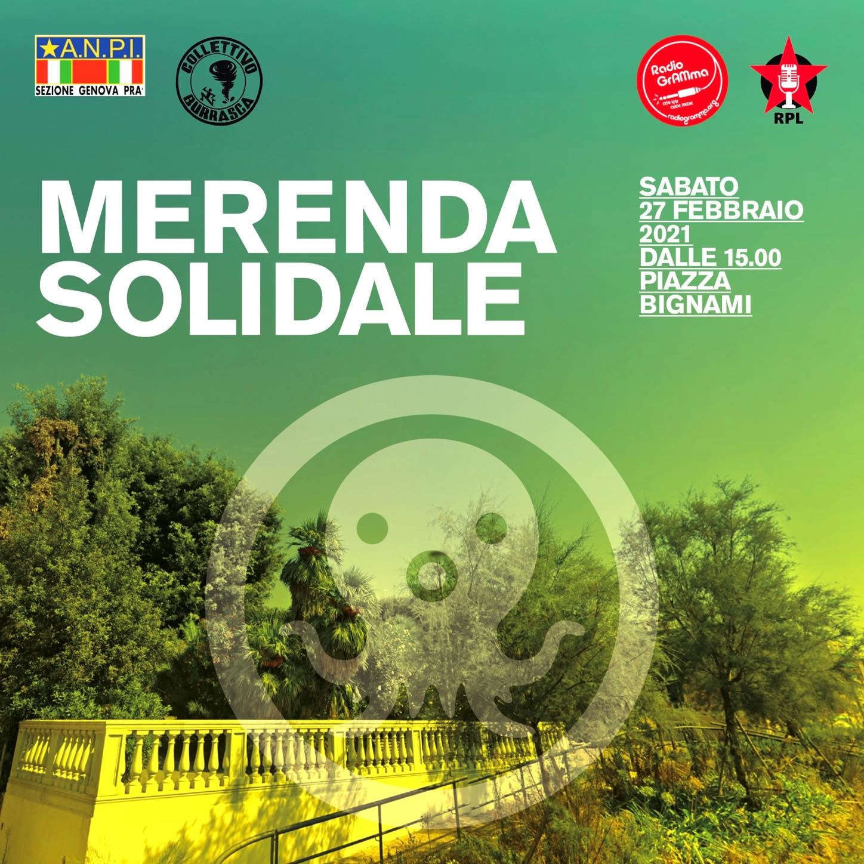 Merenda Solidale//27 Febbraio 2021//Piazza Giuseppe Bignami